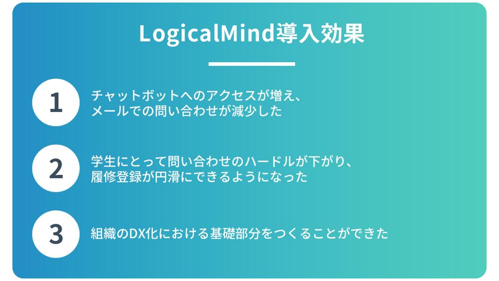 京都橘大学様_LogicalMind導入効果